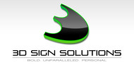 3D Sign Solutions Logo - Entry #180