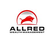 ALLRED WEALTH MANAGEMENT Logo - Entry #556