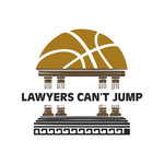 "charity basketball event logo (name with logo is ""lawyers can't jump"") - Entry #31"