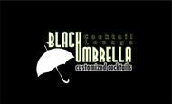 Black umbrella coffee & cocktail lounge Logo - Entry #192