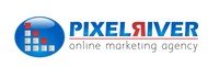 Pixel River Logo - Online Marketing Agency - Entry #104