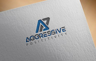 Aggressive Positivity  Logo - Entry #50