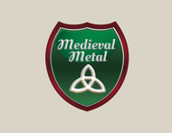 Medieval Metal Logo - Entry #22