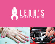 Leah's auto & nail lounge Logo - Entry #38