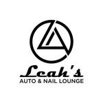 Leah's auto & nail lounge Logo - Entry #126
