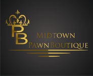 Either Midtown Pawn Boutique or just Pawn Boutique Logo - Entry #92