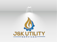 J&K Utility Services Logo - Entry #123