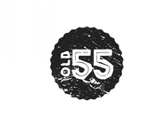 """""""OLD 55"""" - mid-century vintage furniture and wares store Logo - Entry #32"""