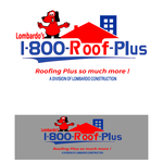 1-800-Roof-Plus Logo - Entry #144