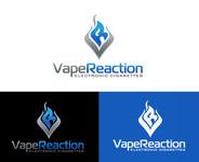 Vape Reaction Logo - Entry #162
