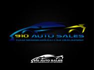 910 Auto Sales Logo - Entry #1