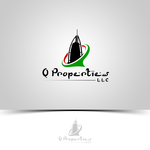 A log for Q Properties LLC. Logo - Entry #45