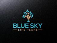 Blue Sky Life Plans Logo - Entry #112