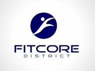 FitCore District Logo - Entry #57