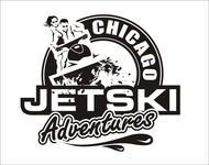 Chicago Jet Ski Adventures Logo - Entry #32