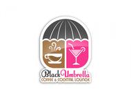 Black umbrella coffee & cocktail lounge Logo - Entry #26