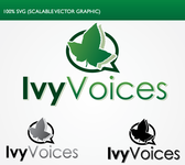 Logo for Ivy Voices - Entry #57