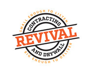 Revival contracting and drywall Logo - Entry #30