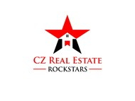 CZ Real Estate Rockstars Logo - Entry #33