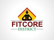 FitCore District Logo - Entry #13
