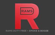 Rams Duty Free + Smoke & Booze Logo - Entry #205
