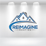 Reimagine Roofing Logo - Entry #284