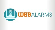 Logo for WebAlarms - Alert services on the web - Entry #187