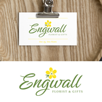 Engwall Florist & Gifts Logo - Entry #128