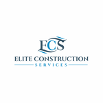 Elite Construction Services or ECS Logo - Entry #356