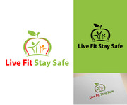 Live Fit Stay Safe Logo - Entry #53