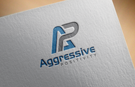 Aggressive Positivity  Logo - Entry #104