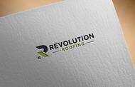Revolution Roofing Logo - Entry #591
