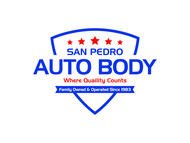 San Pedro Auto Body Logo - Entry #118