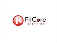 FitCore District Logo - Entry #188