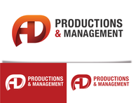 Corporate Logo Design 'AD Productions & Management' - Entry #79