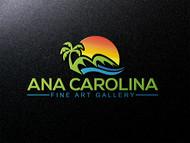 Ana Carolina Fine Art Gallery Logo - Entry #223