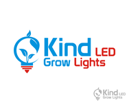 Kind LED Grow Lights Logo - Entry #4