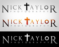 Nick Taylor Photography Logo - Entry #130