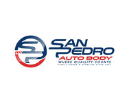 San Pedro Auto Body Logo - Entry #116