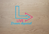 LiveDream Apparel Logo - Entry #329