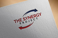 """The Synergy Project"" and place the word ""season three"" underneath in smaller front either as "" season 3"" or ""season three"" Logo - Entry #20"