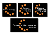 Cabinet Makeovers & More Logo - Entry #181