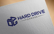 Hard drive garage Logo - Entry #181