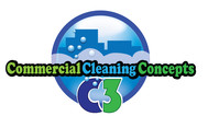 Commercial Cleaning Concepts Logo - Entry #101