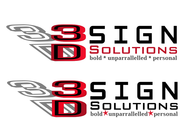 3D Sign Solutions Logo - Entry #200