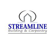 STREAMLINE building & carpentry Logo - Entry #117