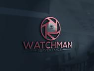 Watchman Surveillance Logo - Entry #210