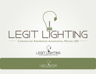 Legit LED or Legit Lighting Logo - Entry #13
