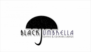 Black umbrella coffee & cocktail lounge Logo - Entry #124