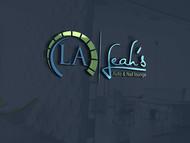 Leah's auto & nail lounge Logo - Entry #205